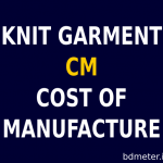 Knit Garments CM Calculation Guidelines